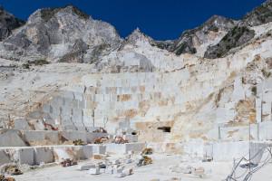 Il marmo, l'oro bianco delle Apuane