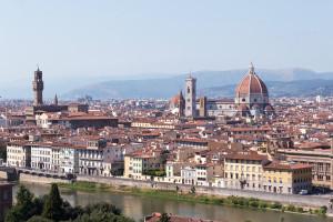 Firenze a pochi km dalla nostra villa con piscina