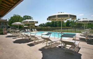 Villa toscana con piscina